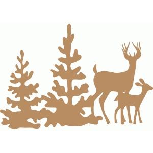 Free Silhouette Cameo Christmas Designs