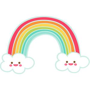 Silhouette Design Store View Design 177649 Happy Rainbow