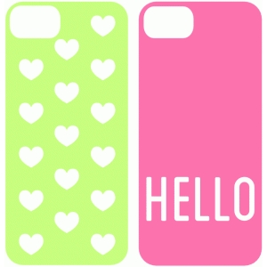 Silhouette design store view design 40649 hello and hearts silhouette design store view design 40649 hello and hearts iphone 5 case template maxwellsz
