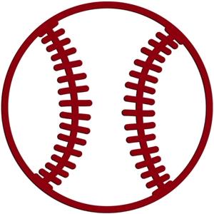 Download Silhouette Design Store - View Design #10759: baseball outline