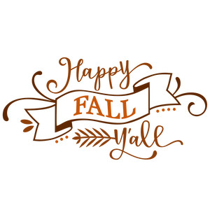 Silhouette Design Store View Design 224859 Happy Fall Y All Banner Phrase