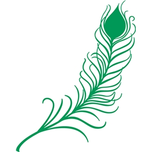 Silhouette design store view design 14169 peacock feather for Where can i buy peacock feathers craft store