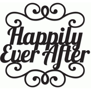 silhouette design store view design 41069 happily ever after stacked