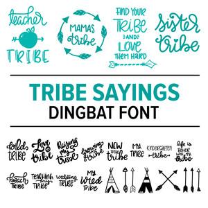 Teacher Dingbat Font