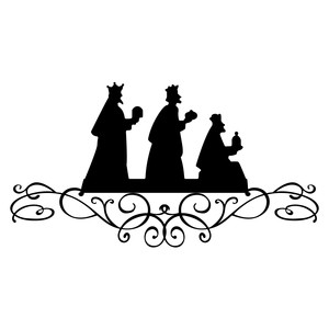 Silhouette Design Store View Design 169189 Three Wise Men