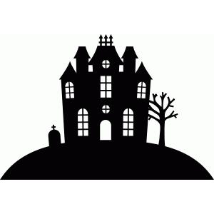 silhouette design store view design 49989 haunted house. Black Bedroom Furniture Sets. Home Design Ideas