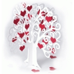3d valentine heart apple tree