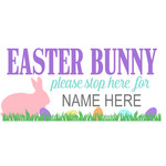 easter bunny stop here