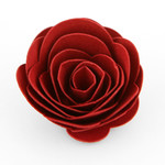 3d rolled rosebud flower