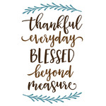 thankful everyday blessed phrase