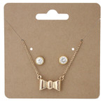 necklace and earring hanging card