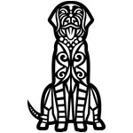 tribal dog