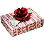 3d rose gift card box