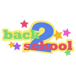 back 2 school phrase