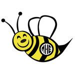 bumble bee monogram