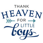thank heaven little boys phrase