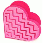 heart box with chevron overlay