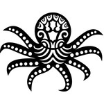 tribal octopus