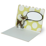 a2 popout deer card