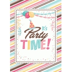 party time girl print and frame