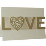 5x7 love layer card