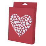 clustered hearts box