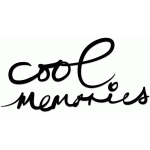hand-inked 'cool memories' title set