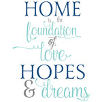 home is the foundation of love