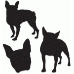 boston terrier silhouette