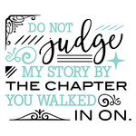 do not judge quote