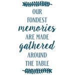 fondest memories around the table