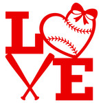 girls love baseball