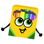box of crayons toon