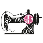 sewing machine monogram frame
