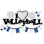 i heart volleyball title