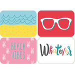 beach journaling cards