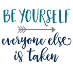 be yourself phrase
