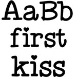 first kiss font