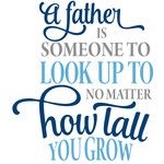 father someone to look up to