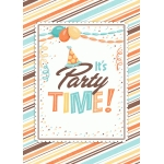 party time boy print and frame