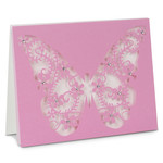 a2 filigree butterfly folded card