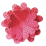 3d dotty flower