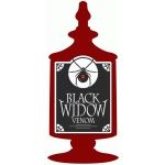 black widow potion label