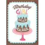 birthday girl print and frame