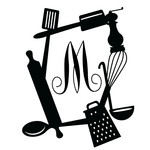 kitchen gadget monogram frame