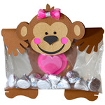 monkey snack bag topper