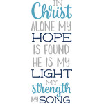 christ hope light strength song