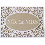 5x7 mr&mrs flourish card