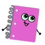 notebook toon