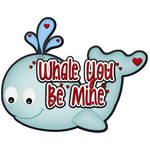 whale you be mine title